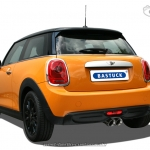 BASTUCK Sportauspuff - BMW Mini F56 One First Cooper - 08