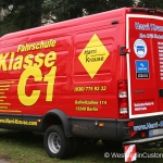 Fahrzeugbeschriftung - IVECO Daily - Fahrschule Harry Krause - 02