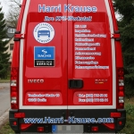 Fahrzeugbeschriftung - IVECO Daily - Fahrschule Harry Krause - 05