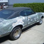 Ohne Fleiss kein Preis - Projekt - Oldsmobile Cutlasss 442 - West-Berlin-Customs - 03