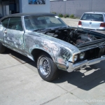 Ohne Fleiss kein Preis - Projekt - Oldsmobile Cutlasss 442 - West-Berlin-Customs - 04