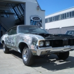 Ohne Fleiss kein Preis - Projekt - Oldsmobile Cutlasss 442 - West-Berlin-Customs - 05