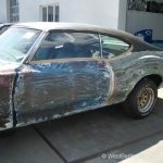 Ohne Fleiss kein Preis - Projekt - Oldsmobile Cutlasss 442 - West-Berlin-Customs - 07