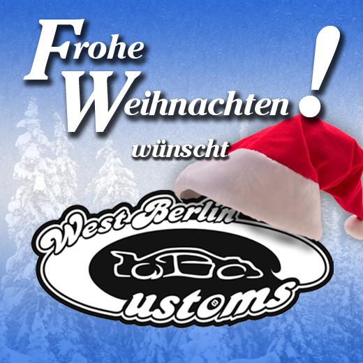 Frohe Weihnachten - West-Berlin-Customs