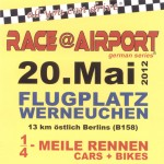 Race at Airport 2012 - Flyer