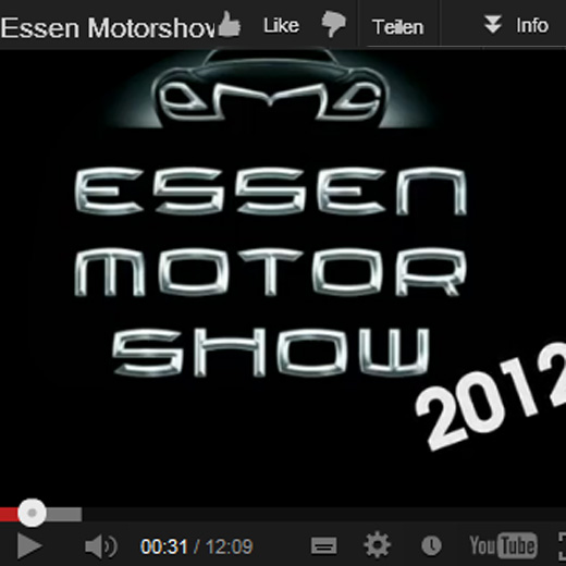 Rückblick – Essen Motor-Show 2012 – Folien, Felgen, Messe-News … [Video]
