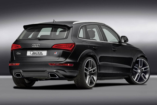 neues bodykit f r den audi q5 modell 2013 von caractere. Black Bedroom Furniture Sets. Home Design Ideas