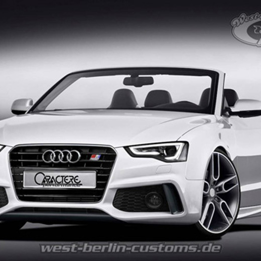 neues bodykit f r den audi a5 cabrio 2012 facelift mit t v. Black Bedroom Furniture Sets. Home Design Ideas