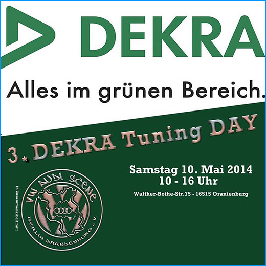 3. DEKRA Tuning Day am 10.Mai 2014 in Oranienburg