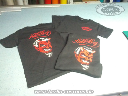 HellBoy DragRacing - Textilien - West-Berlin-Customs - 2