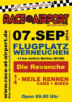 Race-at-Airport 2014 - die Revanche in Werneuchen bei Berlin