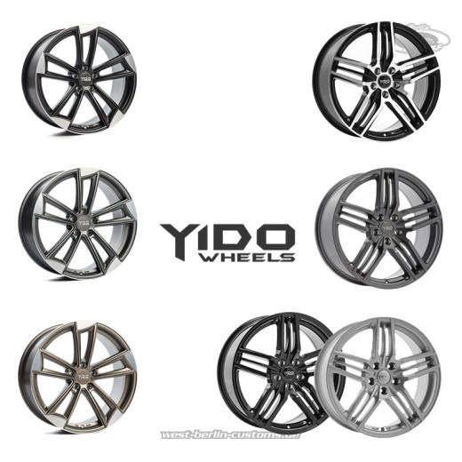YIDO Wheels - WestBerlinCustoms