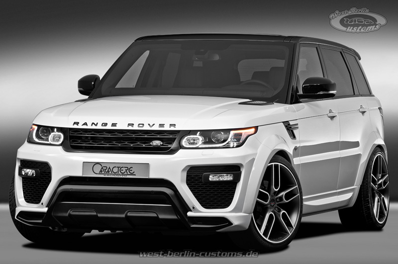 range rover sport karosseriekit exclusives styling mit 22. Black Bedroom Furniture Sets. Home Design Ideas