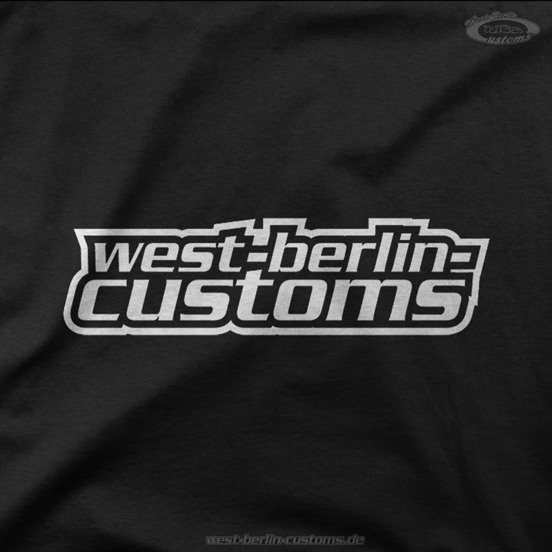 West-Berlin-Customs - T-Shirt - Logo gedreht