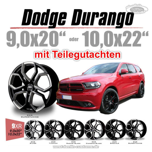 DREWSKE 9XR - Dodge Durango - WestBerlinCustoms