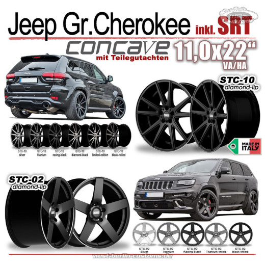 DREWSKE STC-02 - Jeep Grand Cherokee - WestBerlinCustoms