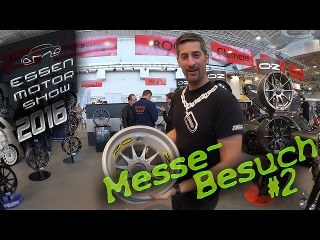 Essen Motorshow 2016 – Ein Messe-Rundgang — Teil #2 — WLOG#005 [Video]