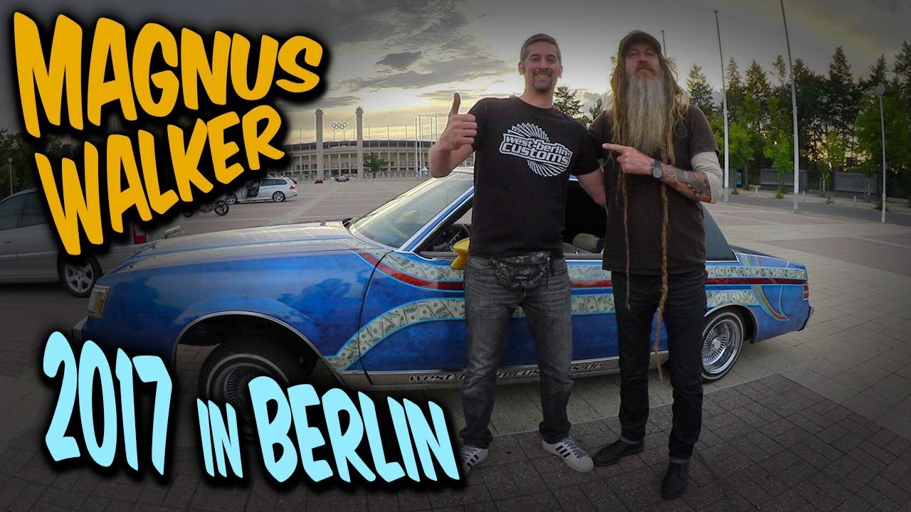 Treffen mit Magnus Walker am Olympia Stadion in Berlin am 30.07.2017 [Video]