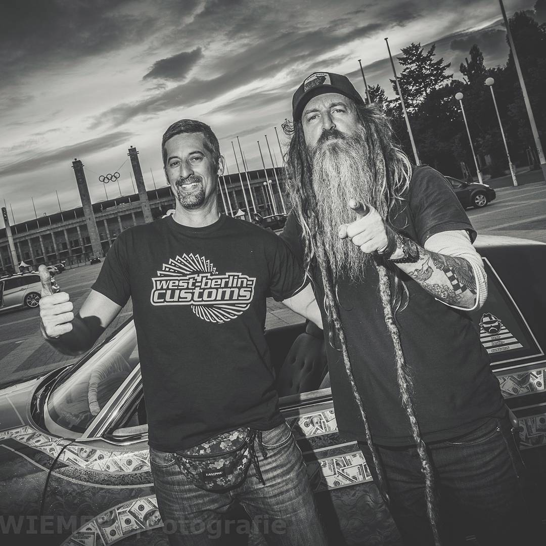 I met Magnus Walker at Olympia Stadion in Berlin