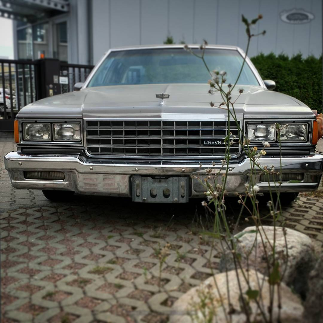 ? my #BoxChevy ( = Chevrolet Caprice Classic )