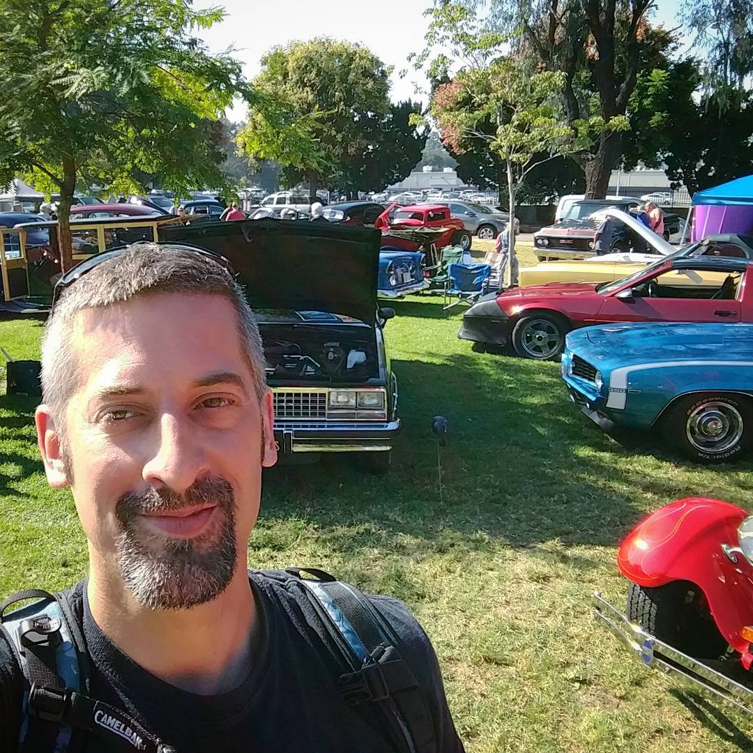 2nd Annual Family Fun Day Car Show with the Burbank Police Department. Very nice people and awesome cars. I liked it a lot! ????