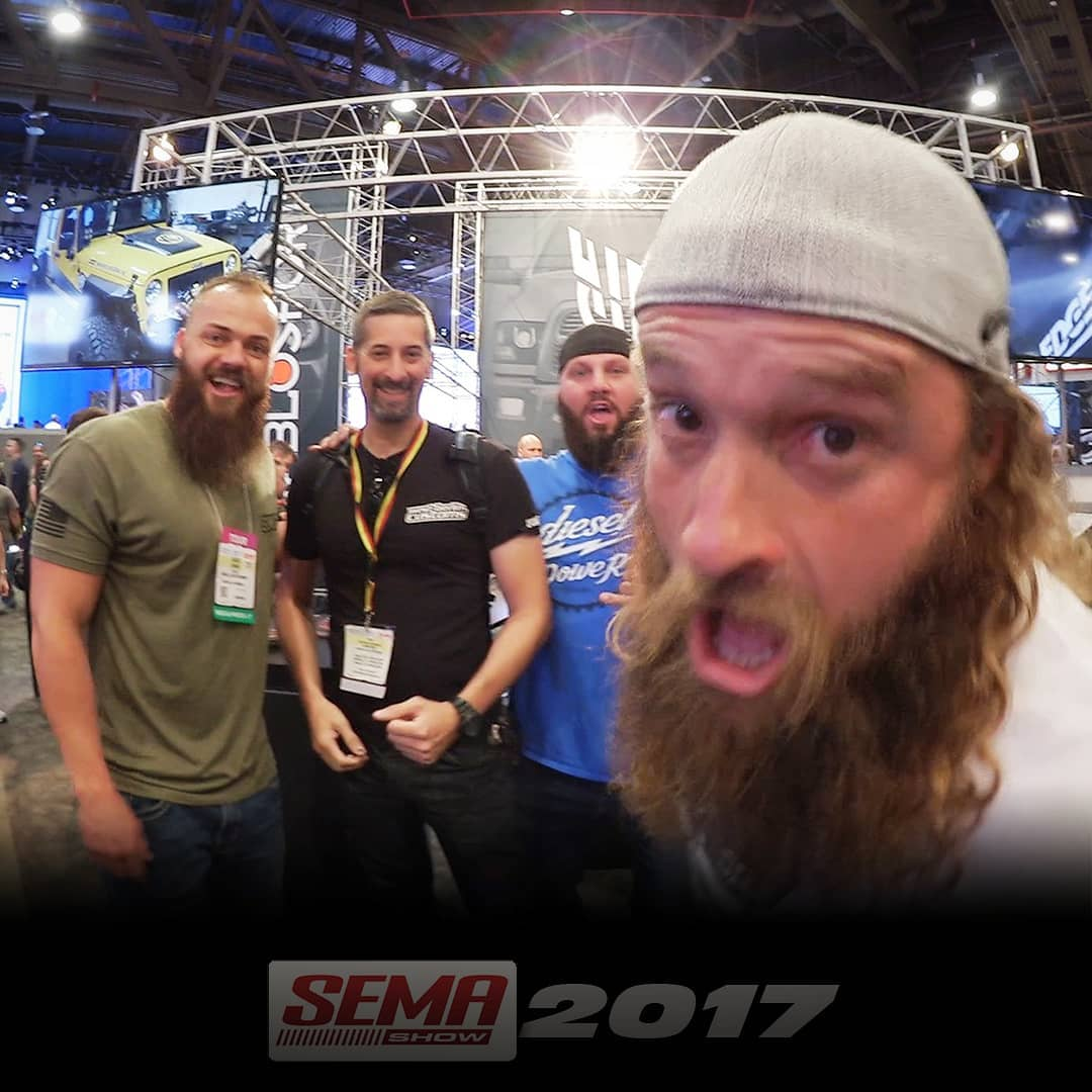 Some of the funniest guys at SEMA 2017! ? I've seen some episodes of these guys doing business and having a lot of fun in (German) TV. So it was great to meet them in person at the show in Las Vegas. Take care guys – see ya 2018