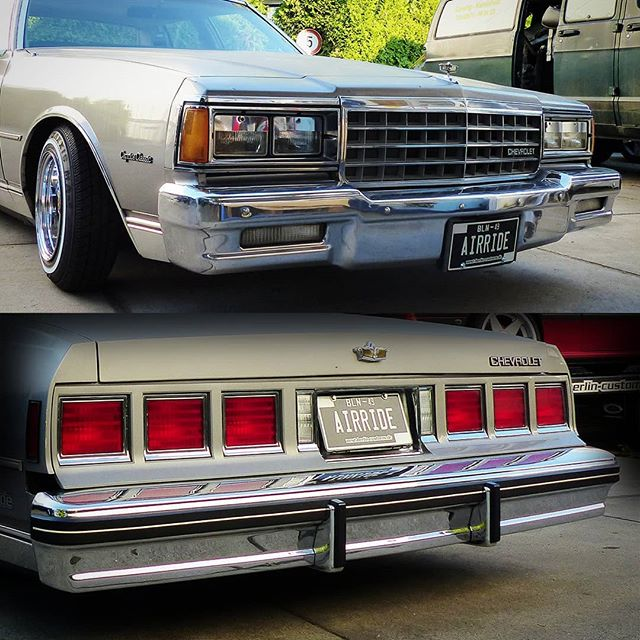 The Caprice Airride Project got a little more chrome around the 'eyes' and a proper license plate. Thema lazy view fits our temperatures im Berlin perfectly