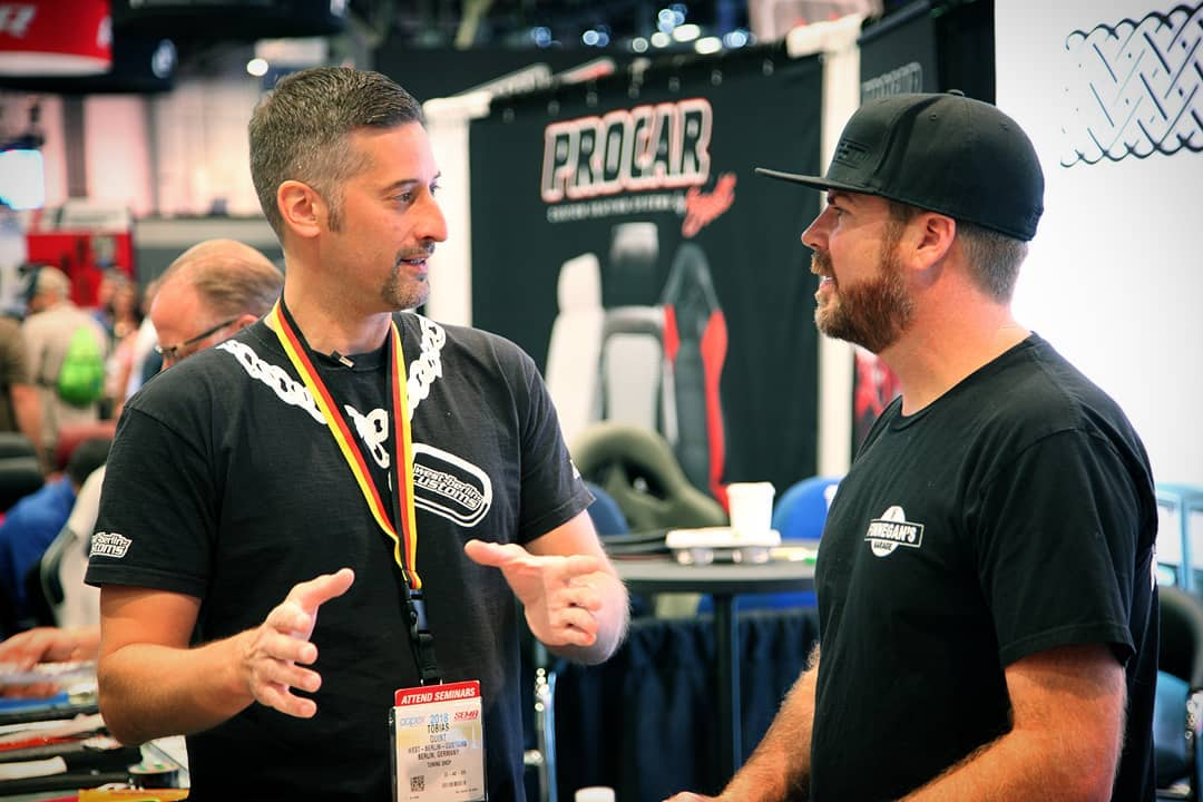 I met Mike Finnegan at SEMA 2018