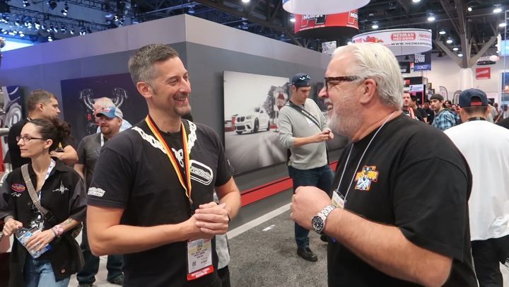 A pleasure to meet Lucky Costa at SEMA 2018