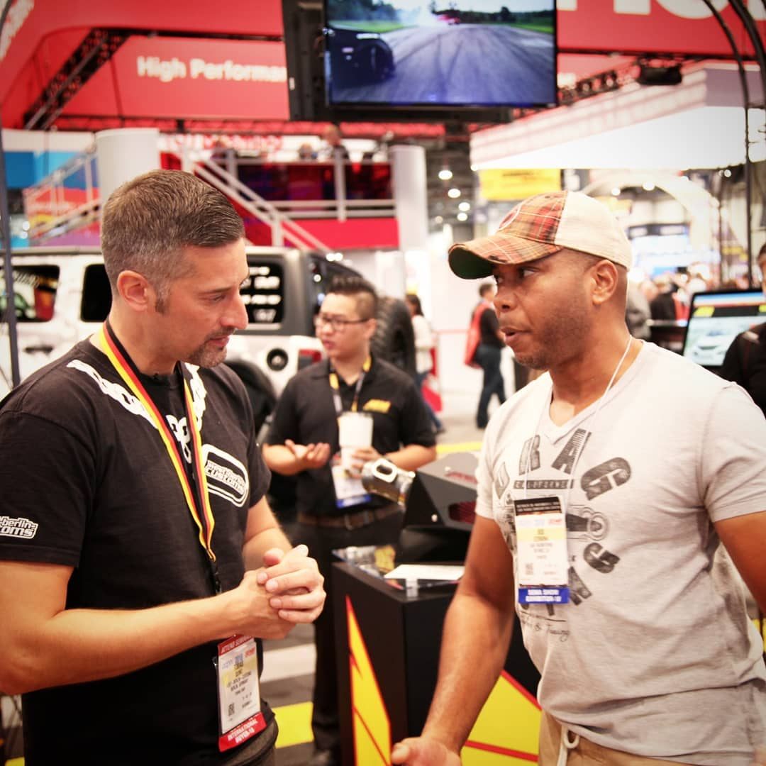 At this I want to post a picture with Bisi Ezeriha. He is an engineer and race car driver. I was impressed by an incredible build of an AWD Honda Wagon with 700+HP (stock is ~90HP). ??? Check @bisimoto for more
