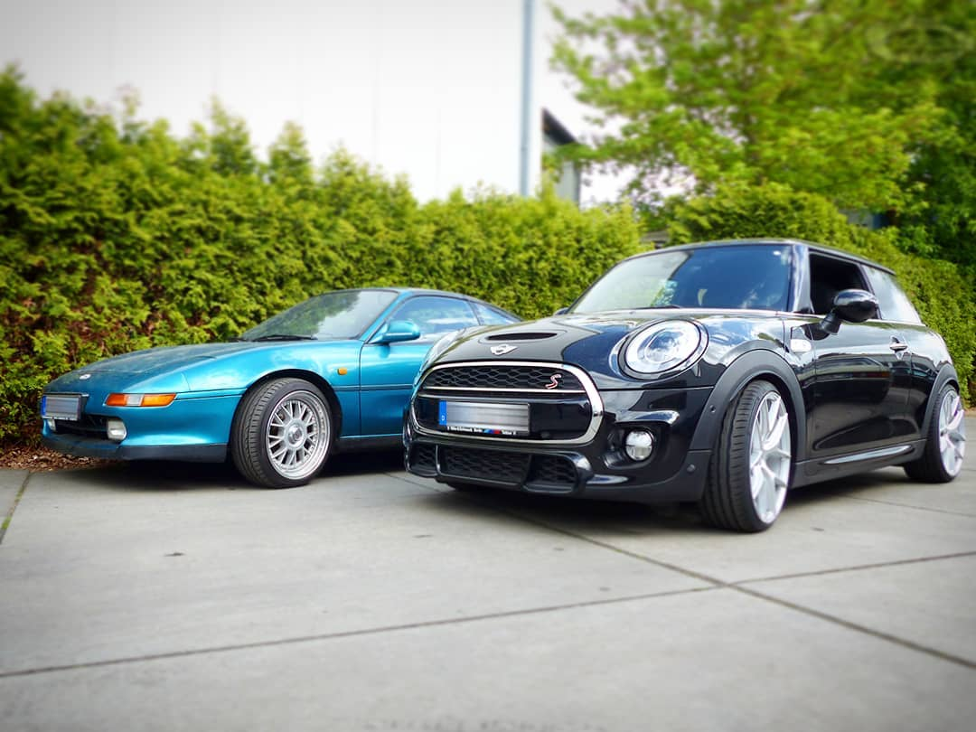 ?? NewSchool vs. OldSchool?! Mr.ONE and MR2! ? Both are No It's a