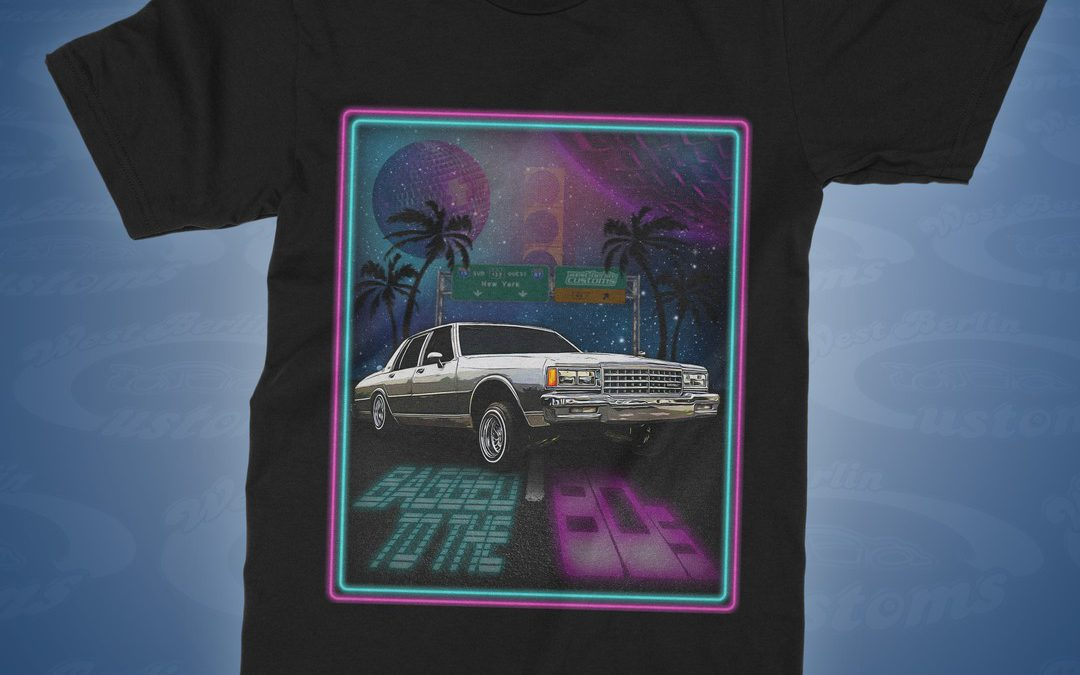 """Bagged to the 80s – Airride Caprice"" T-Shirt"