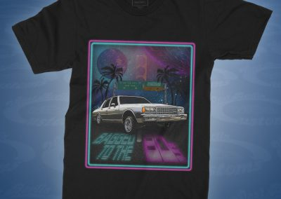 Bagged to the 80s - Caprice Airride - Shirt front