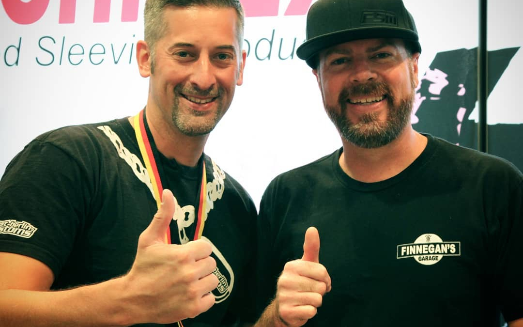 SEMA 2018: Mike Finnegan mit am TechFlex Stand … #RoadKill