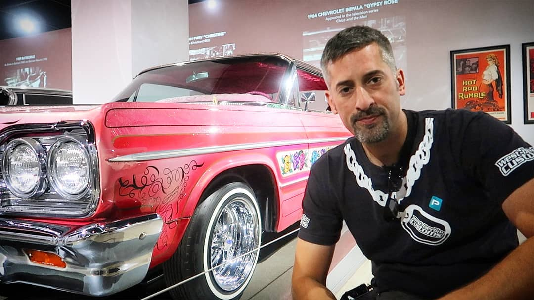 "I've been always impressed about the history and the build quality of ""Gypsy Rose"", a 1964 Impala Lowrider! It's very sad to hear about the owner Jesse @gypsyrose_1964 passing away. Your family and friends are in my thoughts. ??? Rest in Peace"