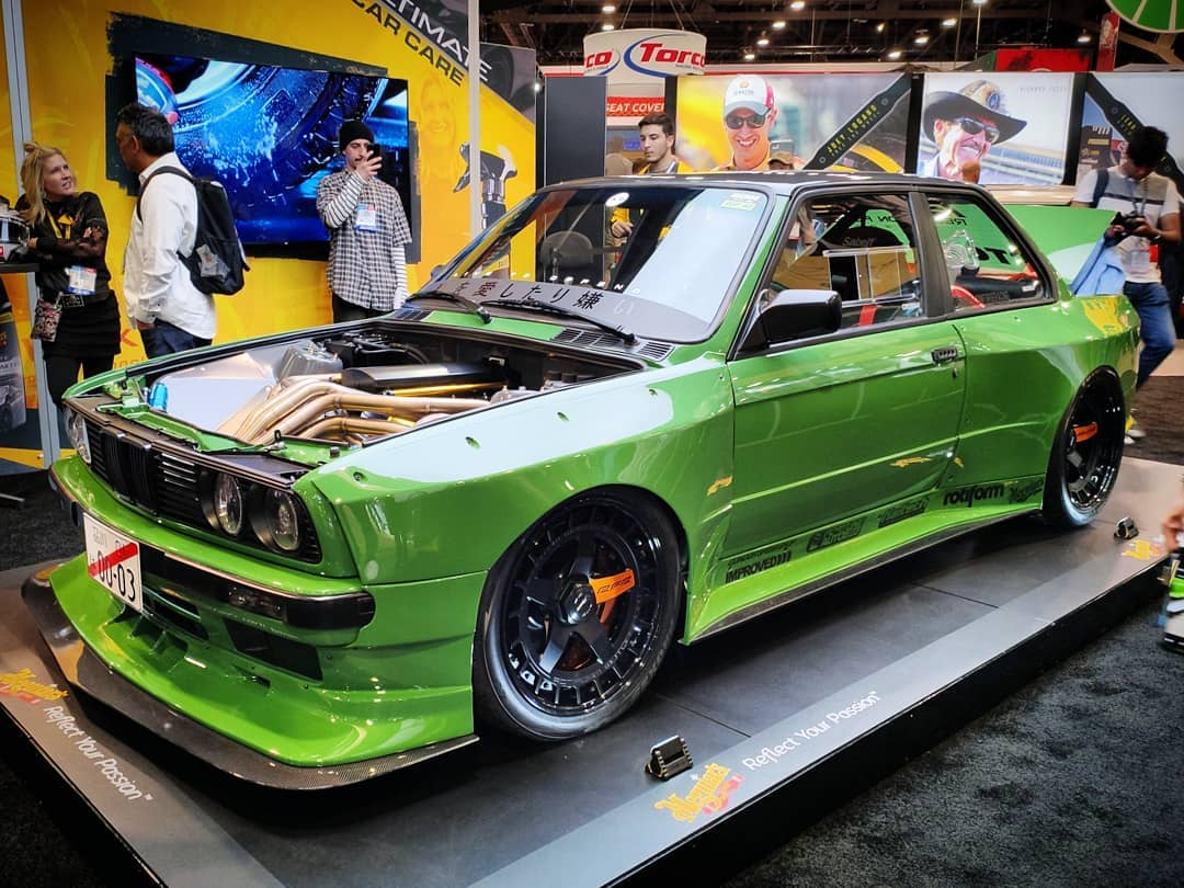 Bad A$$ BMW E30 WideBody at SEMA 2019