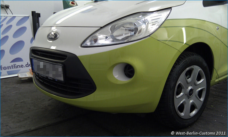 Car-Wrapping – Digitaldruck – Ford Fiesta