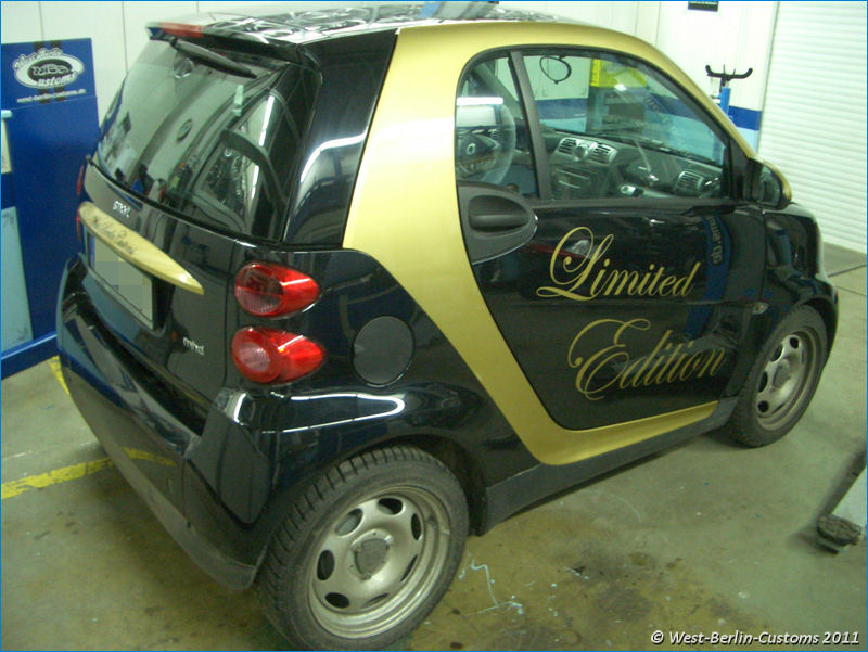 Teilverklebung – Smart ForTwo – Special Edition