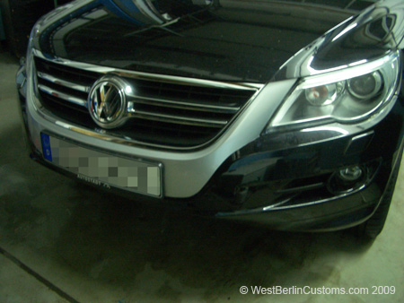 VW Tiguan – S-Line – Optik
