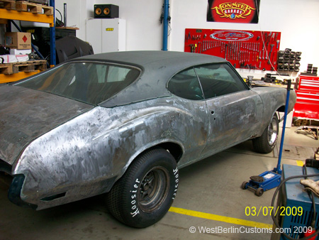 Heiliges Blechle [Projekt – Oldsmobile Cutlass 442]